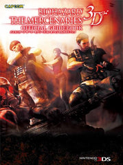 Biohazard The Mercenaries 3 D Official Guidebook