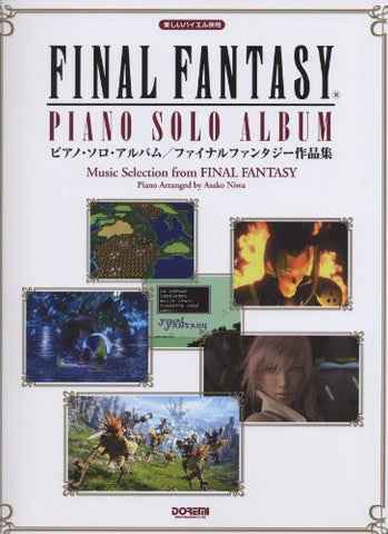 Image for Final Fantasy Piano Solo Album Sheet Music Collection Book
