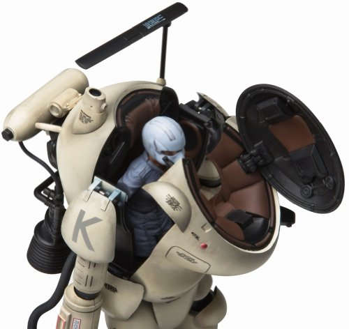 Image 4 for Maschinen Krieger - Super Armored Fighting Suit S.A.F.S. - Action Model - 03 - 1/16 - Antiflash White (Sentinel)