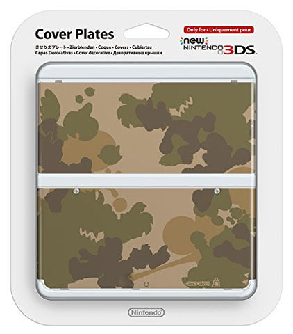 Image for New Nintendo 3DS Cover Plates No.044 (Mario Camouflage Green)