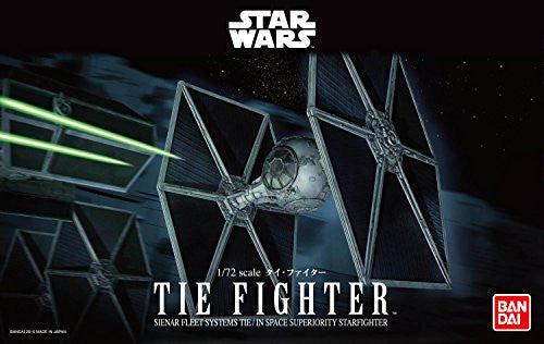 Image 4 for Star Wars - TIE Fighter - Spacecrafts & Vehicles - Star Wars Plastic Model - 1/72 (Bandai)