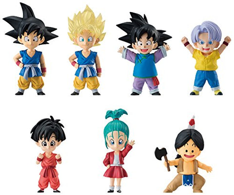 Dragon Ball GT - Son Goku - Bandai Shokugan - Candy Toy - Dragon Ball Adverge EX - Dragon Children vol.2 (Bandai)