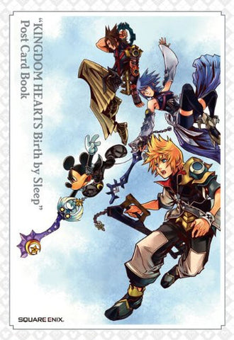 Kingdom Hearts Birth By Sleep Post Card Book
