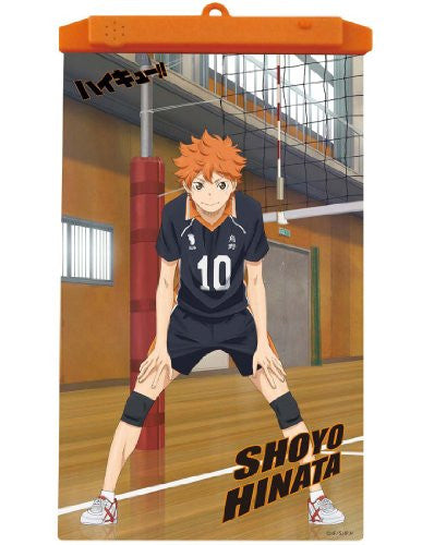 Image 1 for Haikyuu!! - Hinata Shouyou - Poster - Voice Poster (Takara Tomy A.R.T.S)