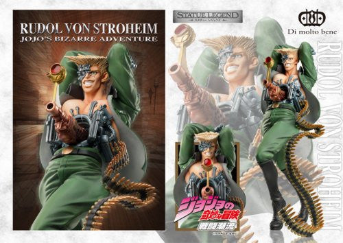 Image 3 for Battle Tendency - Jojo no Kimyou na Bouken - Rudol Von Stroheim - Statue Legend #41 (Di molto bene)