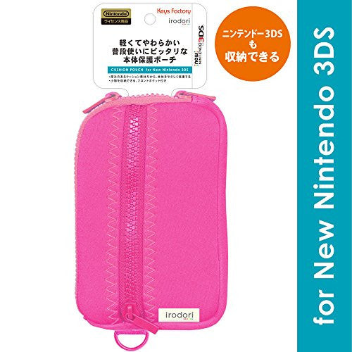 Image 1 for Cushion Pouch for New 3DS (Pink)