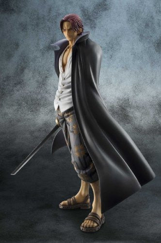 Image 4 for One Piece - Red-Haired Shanks - Excellent Model - Portrait Of Pirates DX - 1/8 - Marineford ver. (MegaHouse)