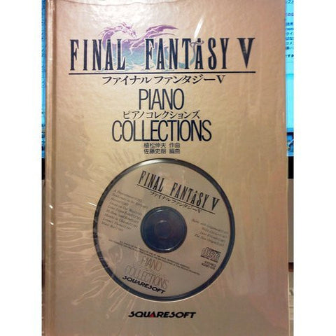 Image for Final Fantasy V Piano Collections Sheet Music Collection Book W/Cd