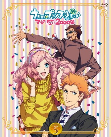 Image for Uta No Prince-sama Maji Love 2000% 5 [Blu-ray+CD]