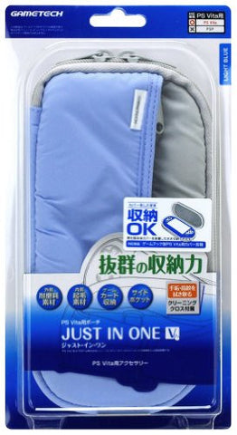 Image for Just In One V PS Vita Multi Pouch (Light Blue)