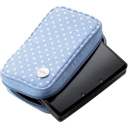 Image 2 for 3DS Canvas Case (Blue Dot)