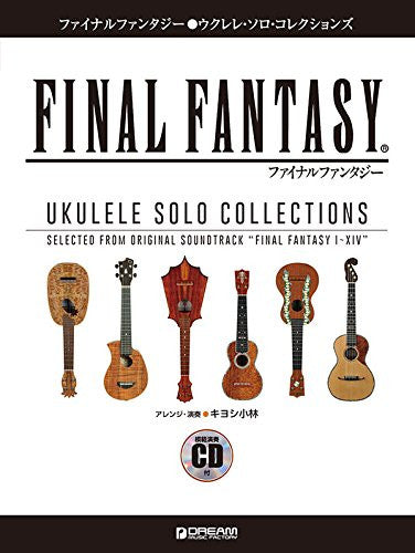 Image 1 for Final Fantasy   Ukelele Solo Collections   Music Score With Cd