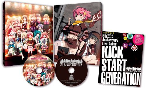 Image 1 for Kira Kira 5th Anniversary Live Anime Kick Start Generation [DVD+CD]