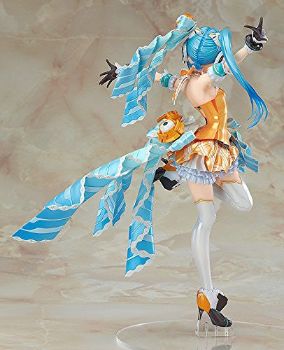 Image 3 for Hatsune Miku -Project Diva- F 2nd - Hatsune Miku - 1/7 - Orange Blossom Ver. (Max Factory)