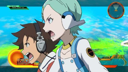 Image 5 for Eureka Seven AO: Jungfrau no Hanabanatachi Game & OVA Hybrid Disc [Limited Edition]