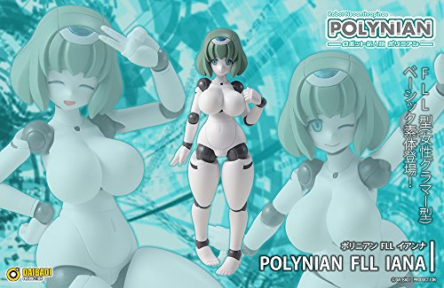Image 2 for Robot Neoanthropinae Polynian - Polynian - FLL Ianna (Daibadi Production, Milestone)