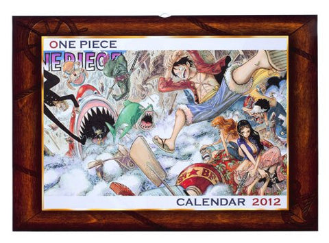 Image for One Piece - Comic Calendar - Wall Calendar - 2012 (Shueisha)[Magazine]