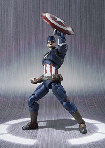 Image 7 for Avengers: Age of Ultron - Captain America - S.H.Figuarts (Bandai)
