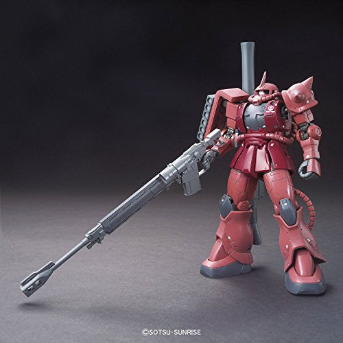 Image 2 for Kidou Senshi Gundam: The Origin - MS-06S Zaku II Commander Type Char Aznable Custom - HG Gundam The Origin - 1/144 (Bandai)