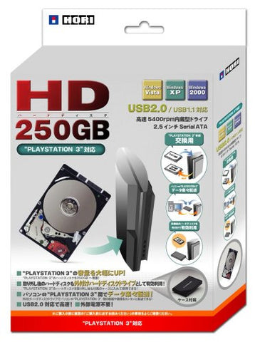Image for Hard Disk 250GB (with USB HDD case)