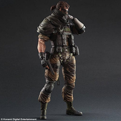 Image 2 for Metal Gear Solid V: The Phantom Pain - Naked Snake - Play Arts Kai - Splitter ver. (Square Enix)