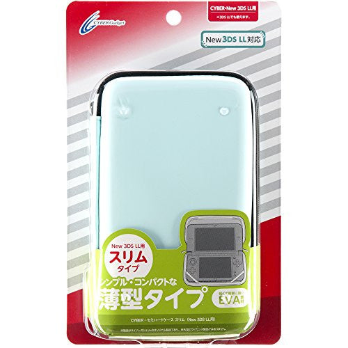 Image 1 for Semi Hard Case Slim for New 3DS LL (Mint Green)