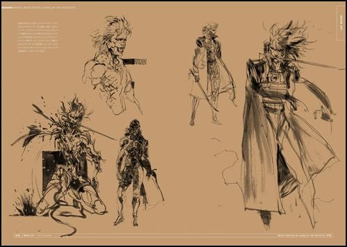 Image 5 for Metal Gear Solid 4: Guns Of The Patriots Master Art Works
