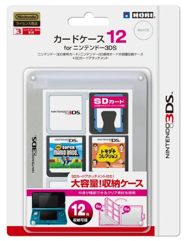 Image for 3DS Card Case 12 (Clear)