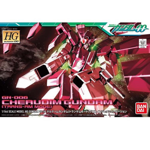 Image 1 for Kidou Senshi Gundam 00 - GN-006 Cherudim Gundam - HG00 #56 - 1/144 - Trans-Am Mode, Gloss Injection Ver. (Bandai)