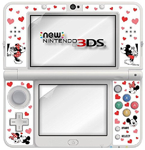 Image 2 for Protection Filter Decoration Seal Set for New Nintendo 3DS (Mickey & Minnie)