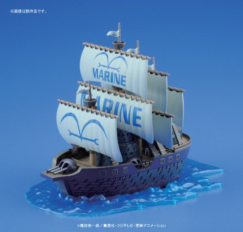 Image 2 for One Piece - Navy Warship - One Piece Grand Ship Collection (Bandai)