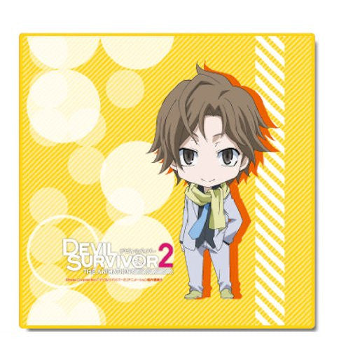 Image 1 for Devil Survivor 2 the Animation - Shijima Daichi - Mini Towel (Dezaegg)
