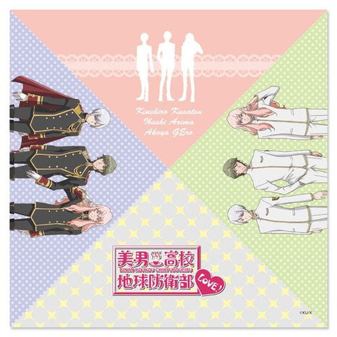 Image for Binan Koukou Chikyuu Boueibu Love! - Kusatsu Kinshirou - Arima Ibushi - Gero Akoya - Mini Towel - Multi-Cloth - Towel (Hobby Stock)