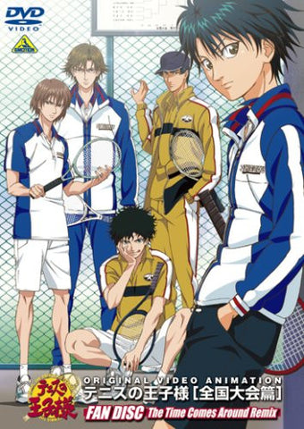 Image for Tennis No ohjisama / The Prince of Tennis Original Video Zenkoku Taikai Hen Fan Disc The Time Comes Around Remix