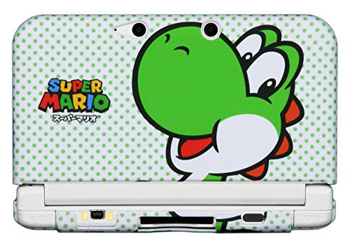 Image 4 for Rubber Coat Cover for 3DS LL (Yoshi)