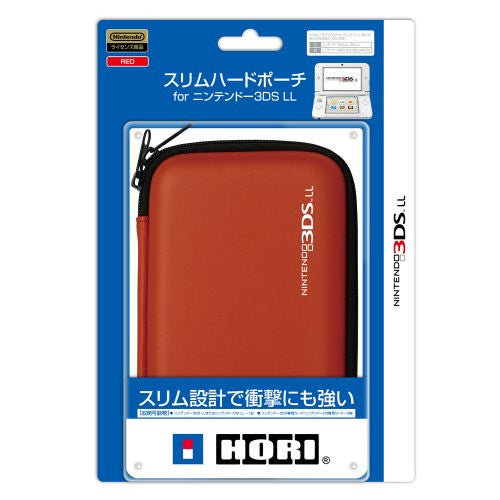 Image 1 for Slim Hard Pouch for 3DS LL (Red)