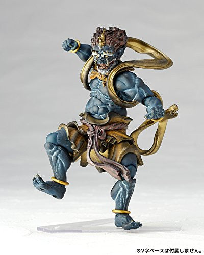 Image 5 for Original Character - KT Project KT-016 - Revoltech - Fuujin - Blue (Kaiyodo)