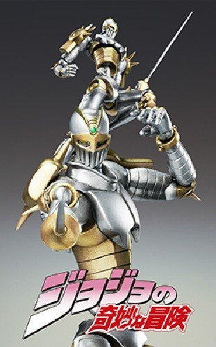 Image 2 for Jojo no Kimyou na Bouken - Stardust Crusaders - Anubis - Silver Chariot - Super Action Statue #51 - Second Ver. (Medicos Entertainment)