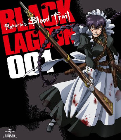OVA Black Lagoon Roberta's Blood Trail 001