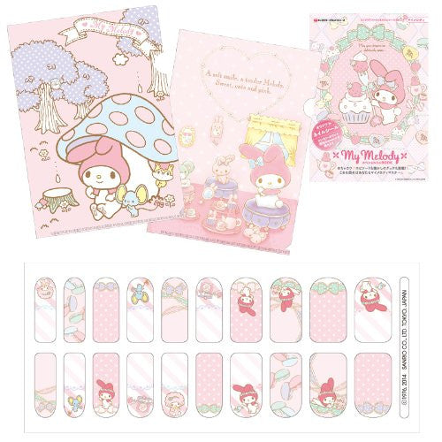 Image 7 for My Melody   Mini Clear File And Nail Seal Book