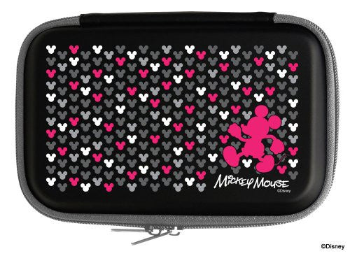 Image 1 for Disney Character Hard Pouch DSi LL/XL (Mickey Black)