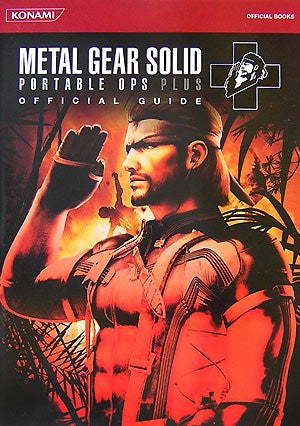 Image 1 for Metal Gear Solid Portable Ops + Official Guide (Konami Official Books)