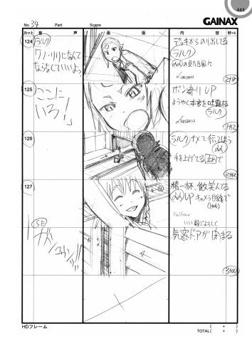 Image 3 for Diebuster Aim For The Top 2 Storyboard Collection Book