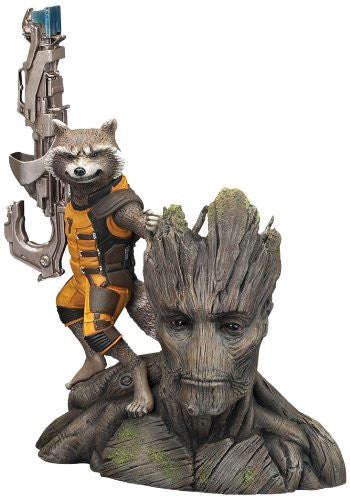 Image 1 for Guardians of the Galaxy - Groot - Rocket Raccoon - ARTFX+ - Guardians of the Galaxy ARTFX+ - 1/10 (Kotobukiya)