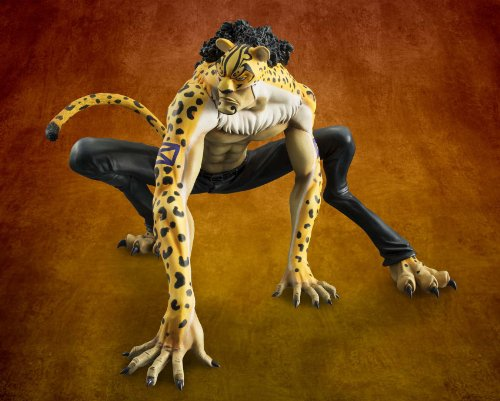 "Image 9 for One Piece - Rob Lucci - Excellent Model - Portrait Of Pirates ""MAS"" - 1/8 (MegaHouse)"