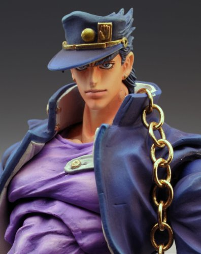 Image 4 for Jojo no Kimyou na Bouken - Stardust Crusaders - Kuujou Joutarou - Super Action Statue #12 - Second Ver. (Medicos Entertainment)