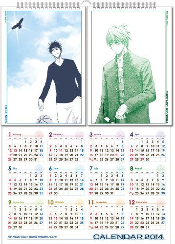 Image 2 for Kuroko no Basket - Comic Calendar - Wall Calendar - 2014 (Shueisha)[Magazine]