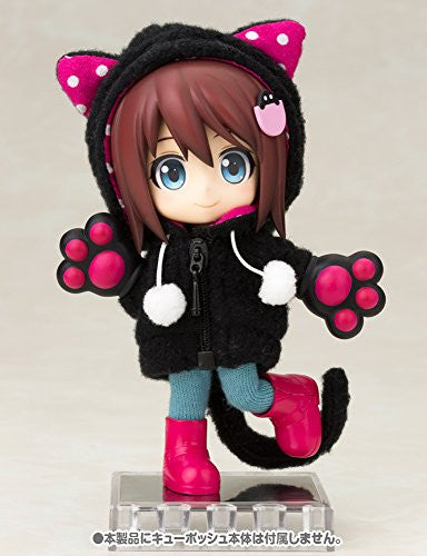 Image 9 for Cu-Poche - Cu-Poche Extra - Animal Parka Set - Black Cat (Kotobukiya, Noix de Rome)