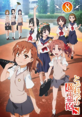 Image 2 for To Aru Kagaku No Railgun S Vol.8 [Limited Edition]