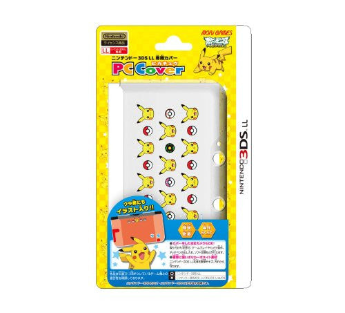 Image 1 for Pocket Monster PC Cover for 3DSLL [Pikachu S Version]